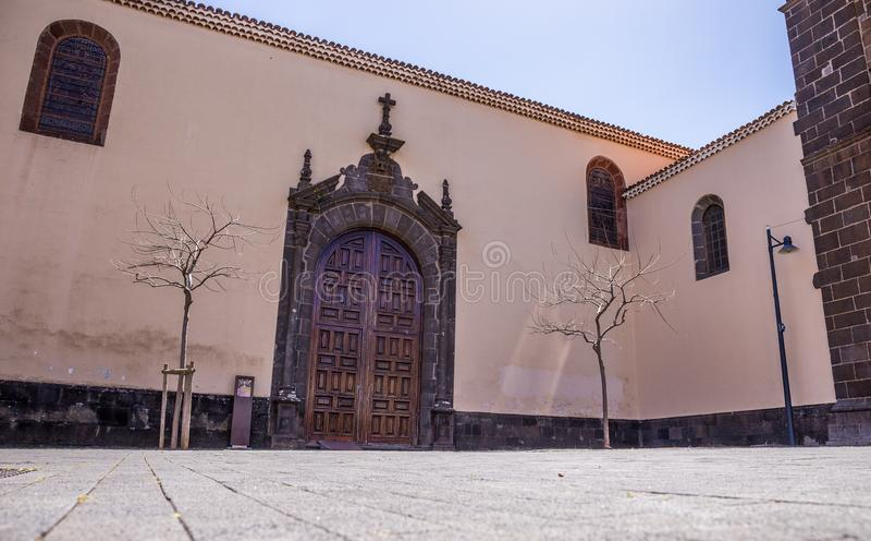 Kościół Concepcion, San Cristobal de los angeles Laguna, Santa Cruz de Tenerife, Hiszpania obraz stock