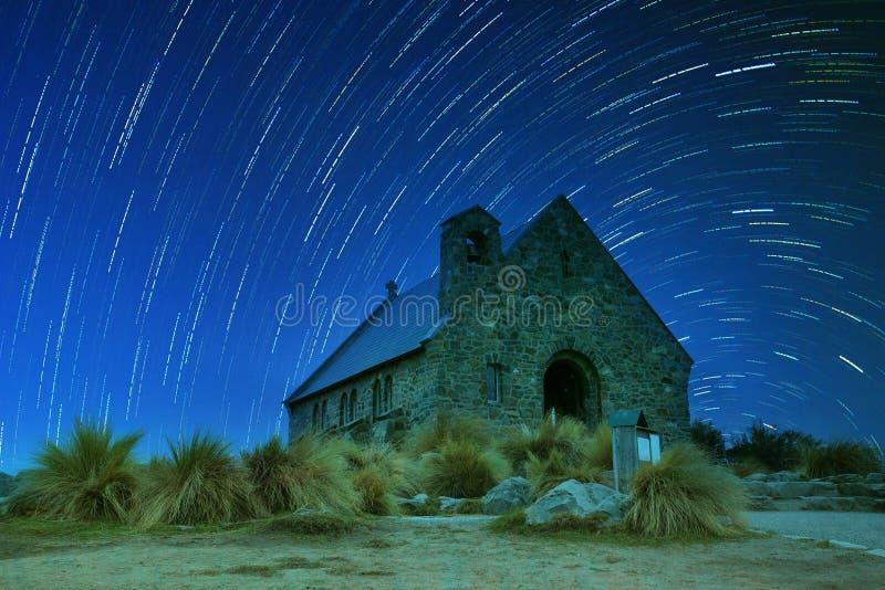Kościół dobry pasterski znacząco punkt zwrotny i podróżny destin fotografia stock
