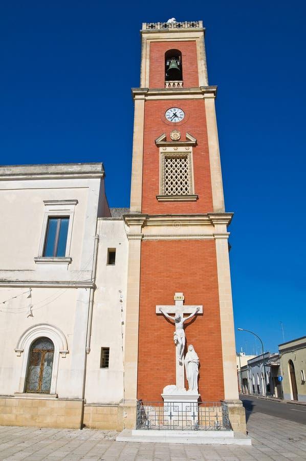 Kościół Dominicans. Copertino. Puglia. Włochy. obraz royalty free