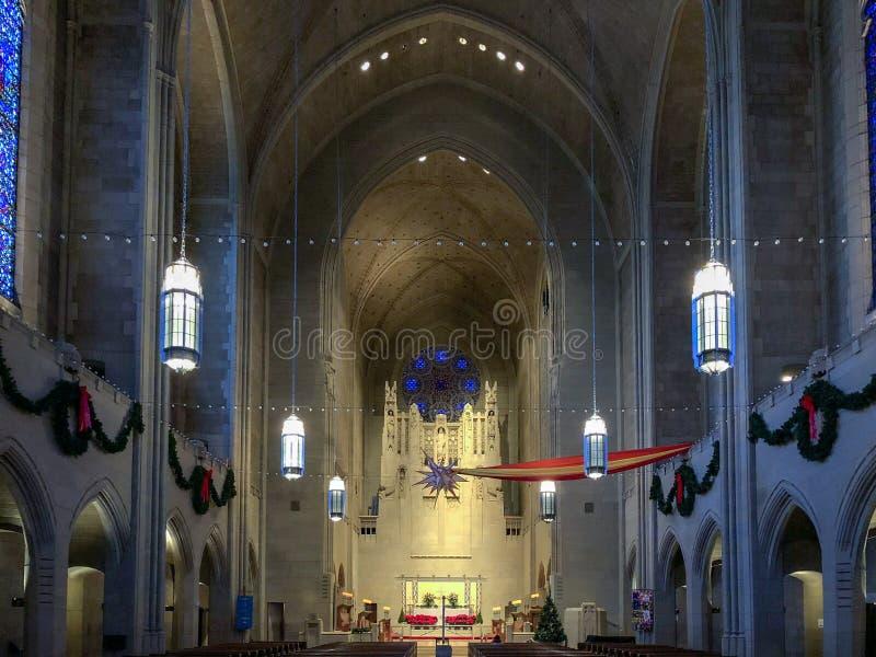 Kościół Episkopalny Nadziemski odpoczynek zdjęcia stock