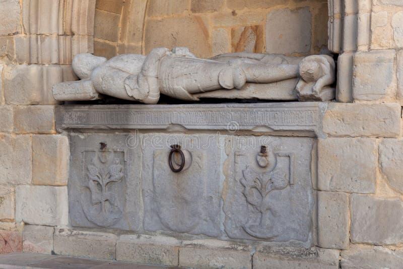 Kościół Erandio zdjęcie stock