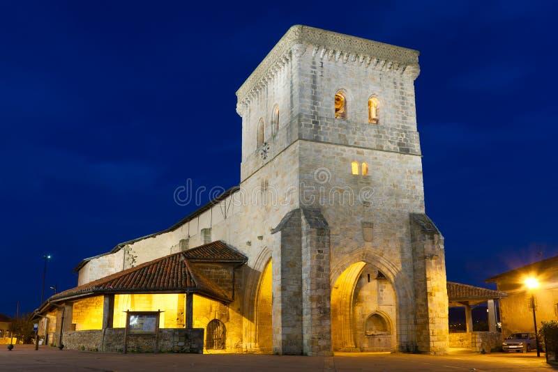 Kościół Erandio zdjęcie royalty free