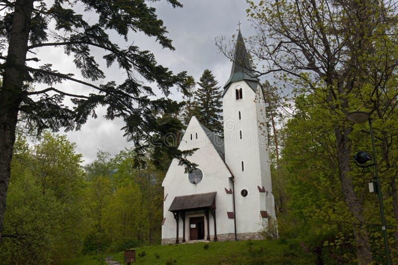 kościół ewangelicki obraz stock