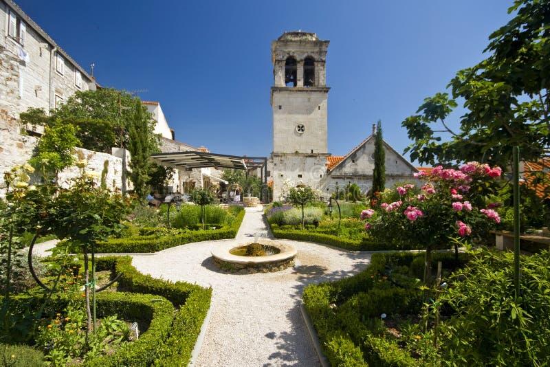 kościół g Lawrence śródziemnomorski medival st zdjęcia royalty free