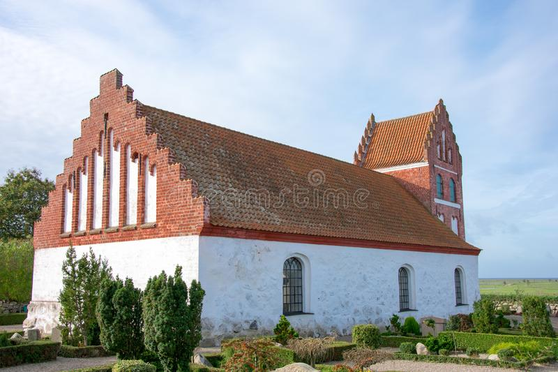 Kościół Helnas obrazy royalty free