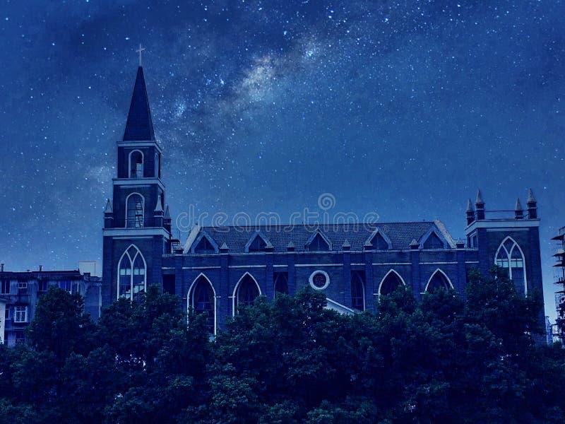 Kościół i życie obraz royalty free
