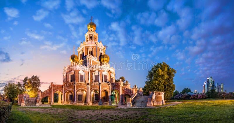 Kościół Intercesja obraz royalty free