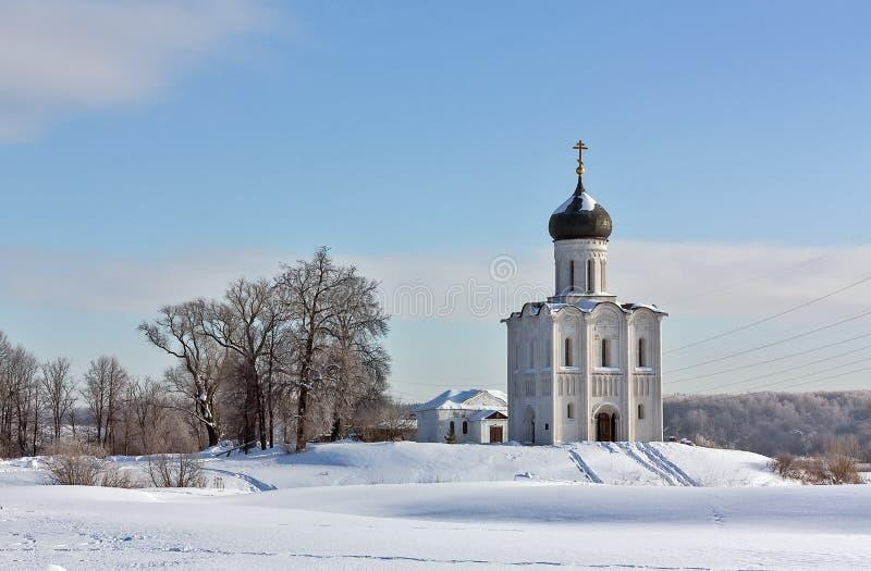 Download Kościół Intercesja Na Nerl, Rosja Zdjęcie Stock - Obraz złożonej z architektury, ornament: 28954862