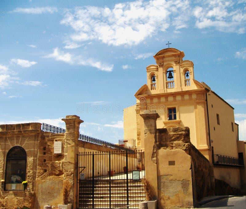 kościół jest agrigento obrazy royalty free