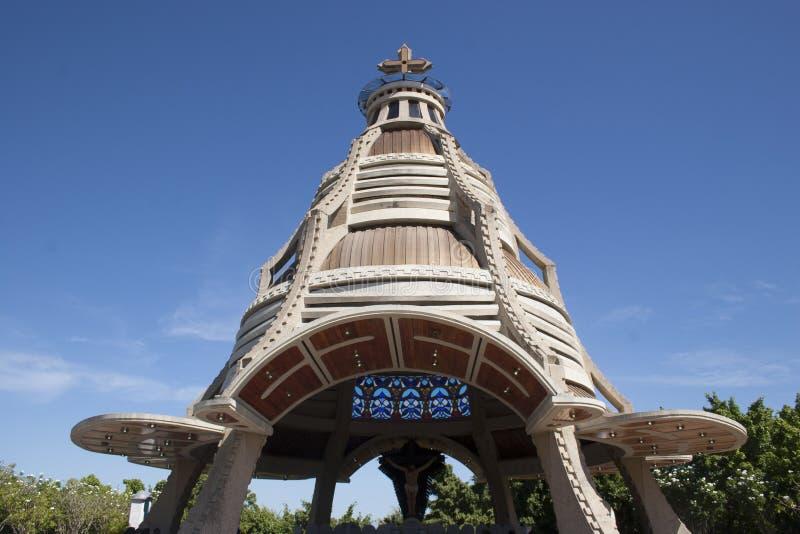Kościół Jose bazylika Chrystus Jose Anzoategui Wenezuela obraz royalty free
