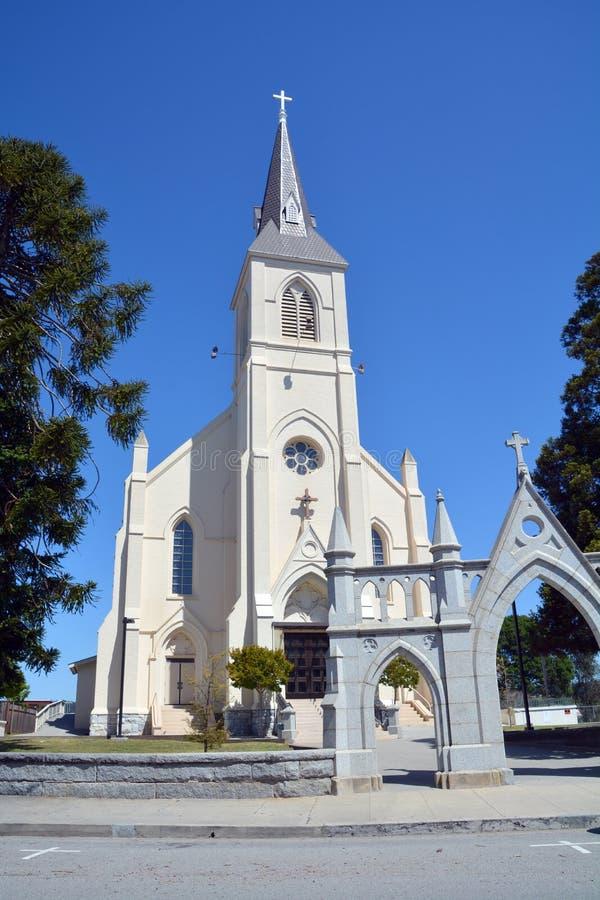 kościół katolicki święty przecinający zdjęcia stock