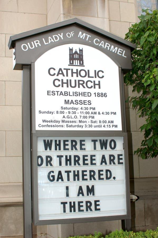 kościół katolicki zdjęcia royalty free