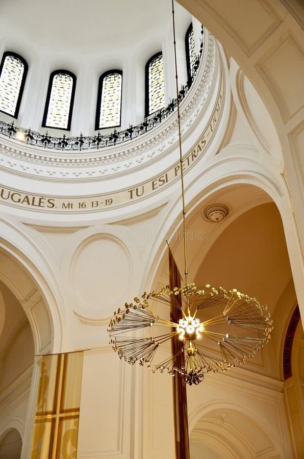 kościół katolicki Lithuania obraz royalty free