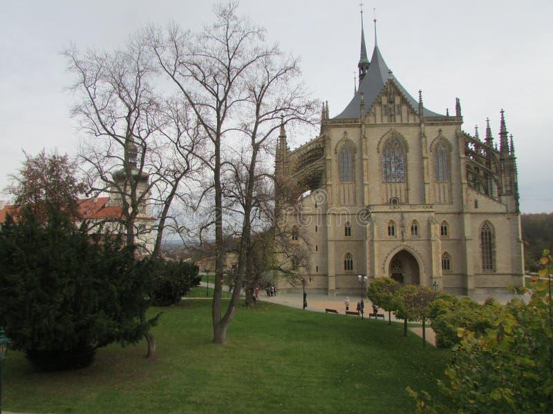 Kościół Katolicki St Barbara - patron górnicy obraz stock