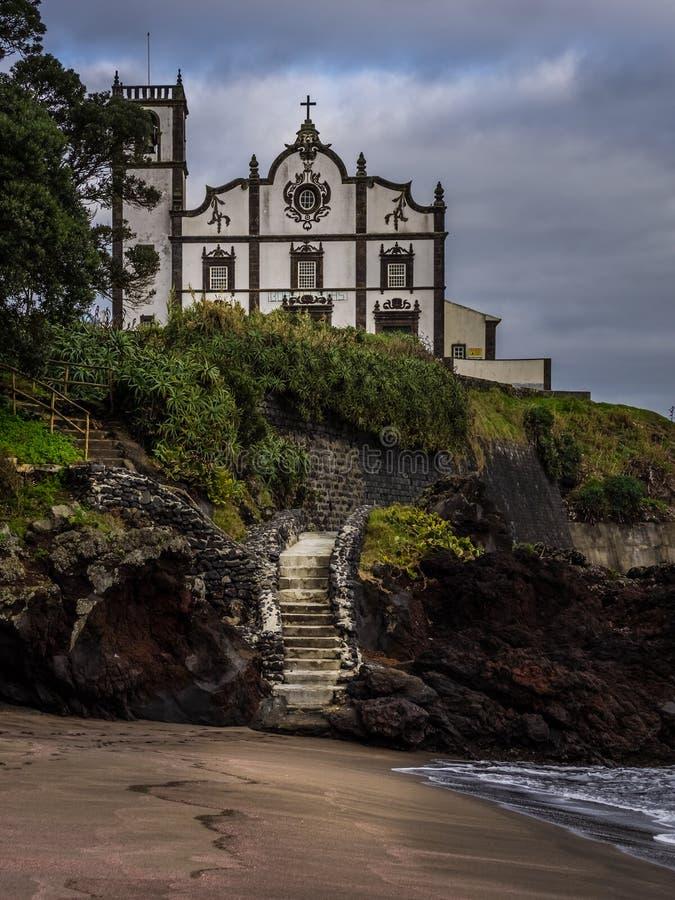 Kościół Katolicki w Ponta Delgada obrazy stock
