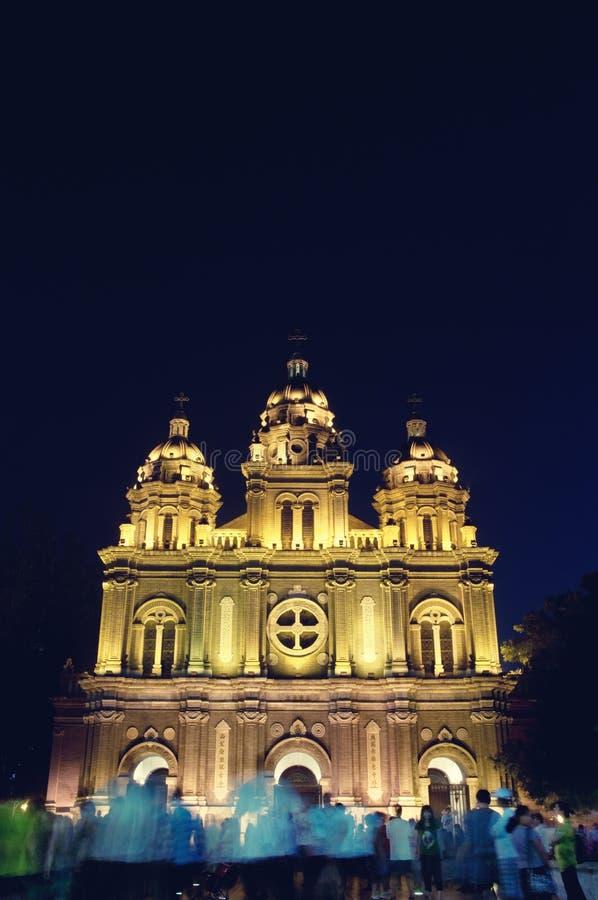Kościół Katolik Chrch Wangfujing kościół St Joseph ` s kościół zdjęcie royalty free