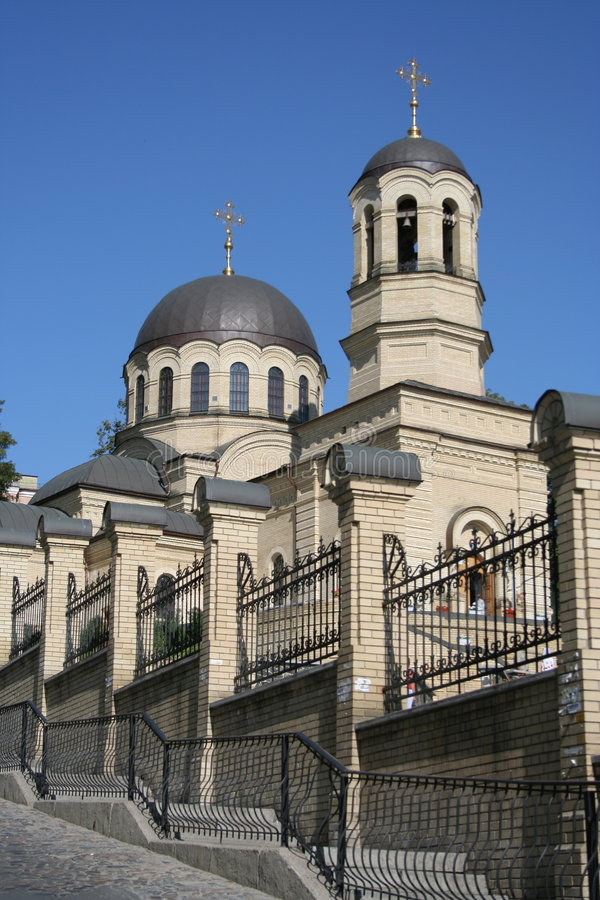 kościół Kiev obraz royalty free