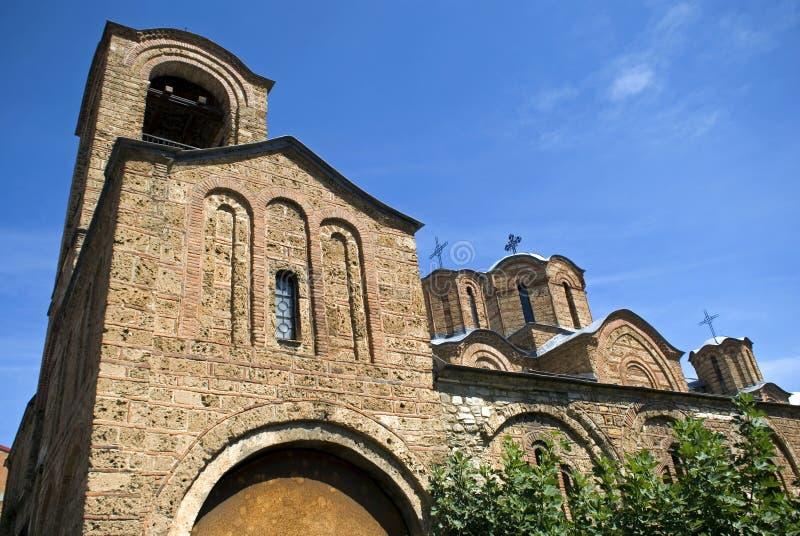 Kościół Ljevisa dziewica, Prizren, Kosowo obrazy royalty free