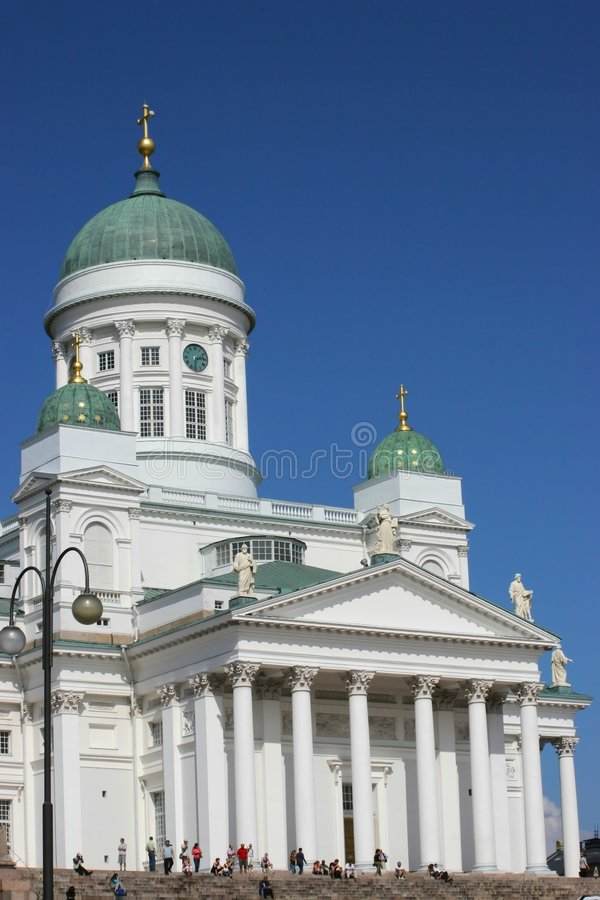 Kościół Lutheran Obraz Royalty Free