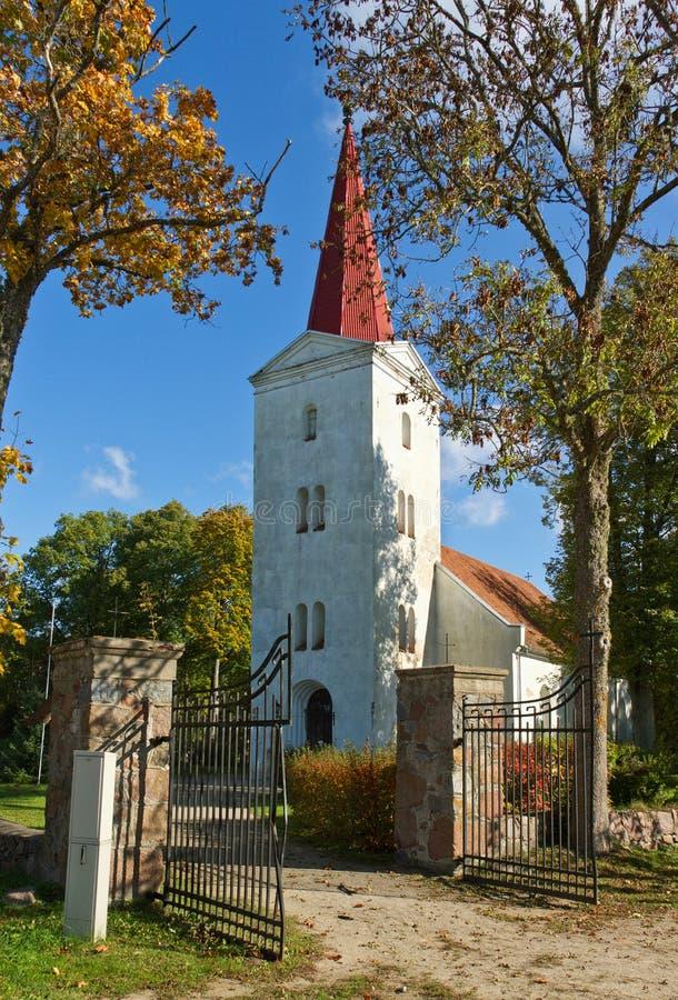 kościół lutheran zdjęcia royalty free
