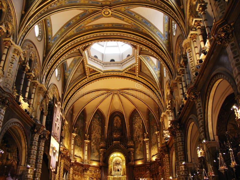 kościół Montserrat obraz stock