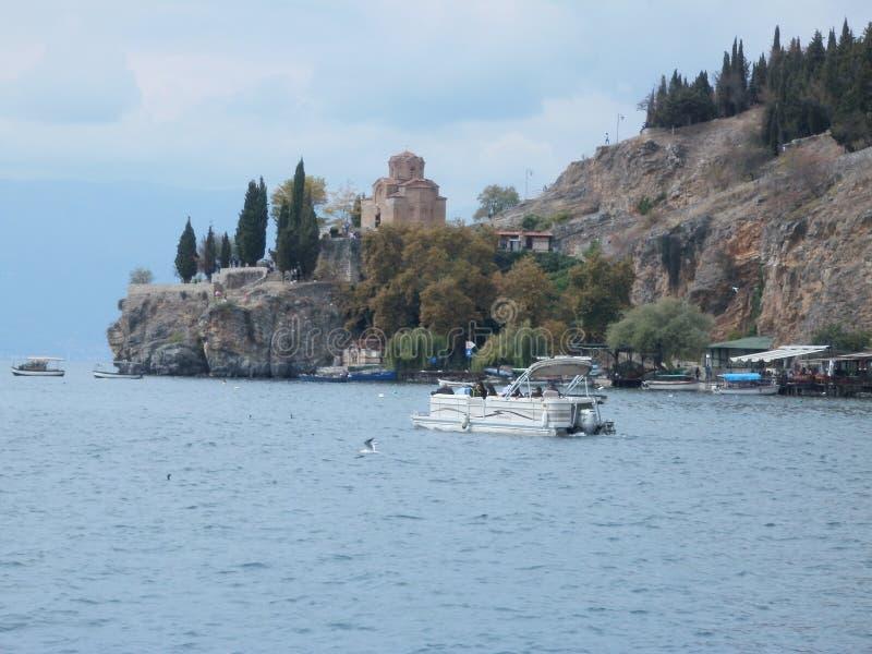 Kościół na kamieniu - Ohrid zdjęcia stock