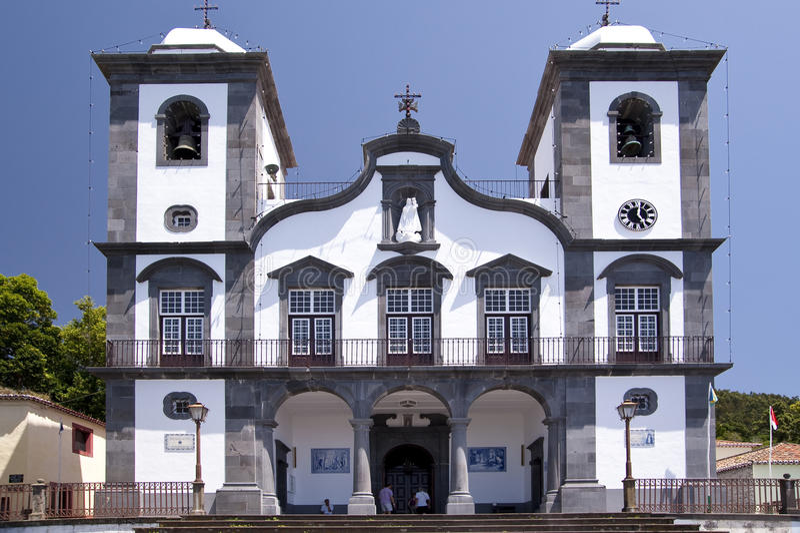 Kościół na maderze fotografia stock