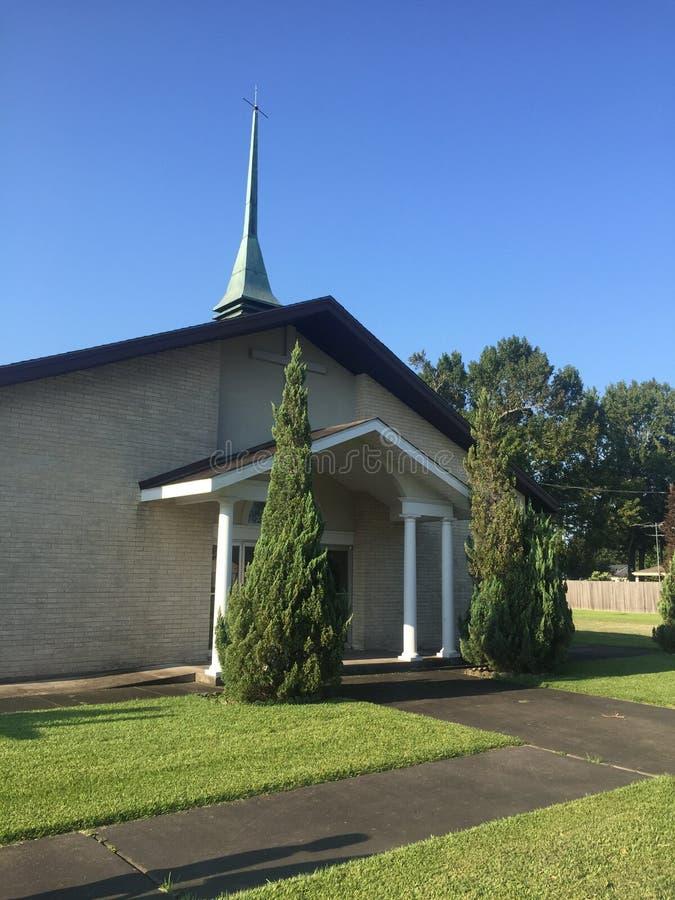 Kościół na słonecznym dniu obraz stock
