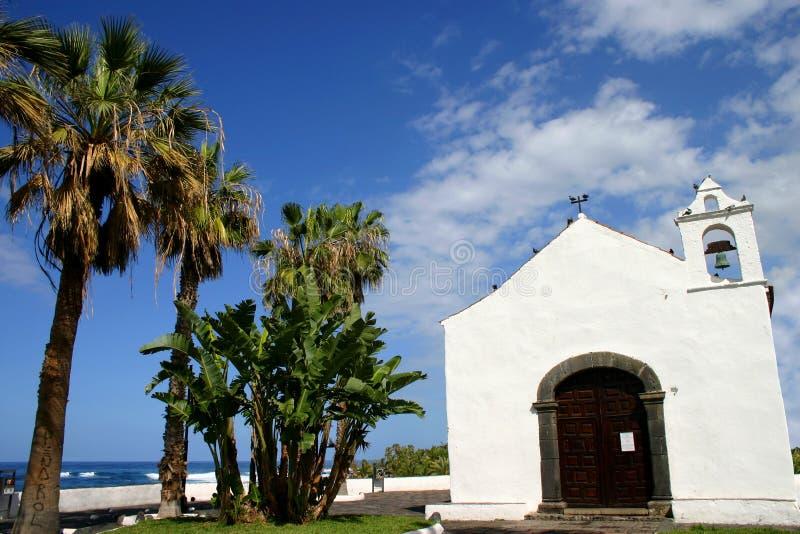 Kościół na wyspie fotografia royalty free
