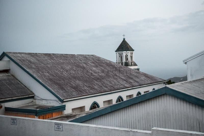 Kościół na wzgórzu zdjęcia royalty free