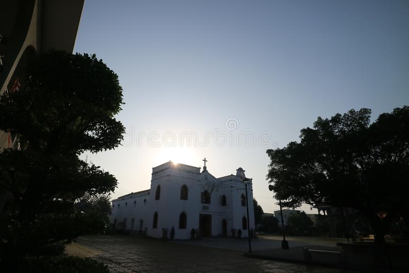 Kościół Nadziemski królewiątko obrazy royalty free
