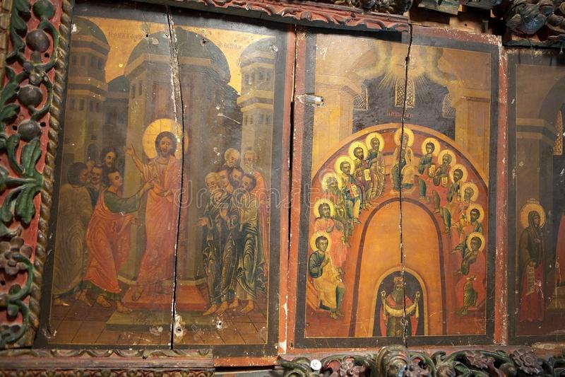 Kościół narodzenie jezusa obraz royalty free