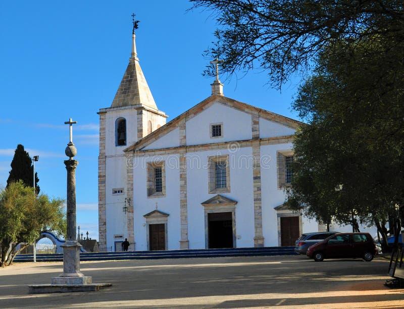 Kościół Nasz dama i pręgierz obraz stock
