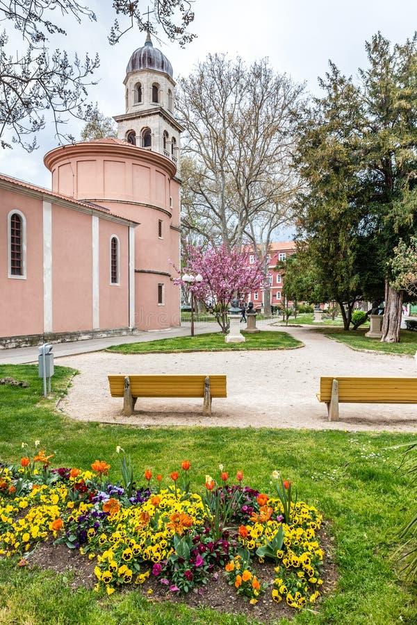 Kościół Nasz dama zdrowie - Zadar, Chorwacja obrazy royalty free