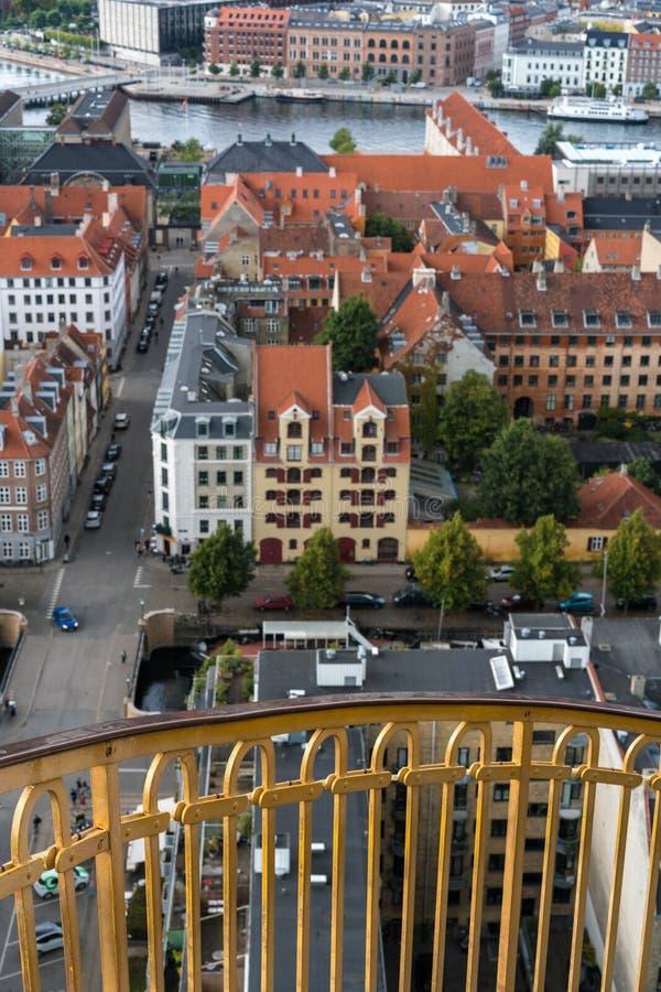 Kościół Nasz wybawiciel w Kopenhaga, Dani fotografia stock