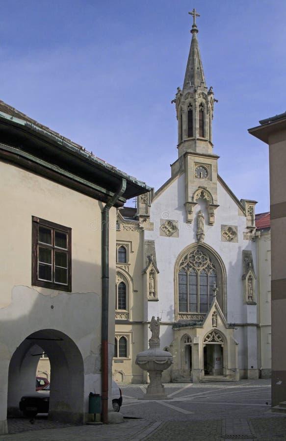 Kościół Niepokalany w Sopron, Węgry obrazy stock