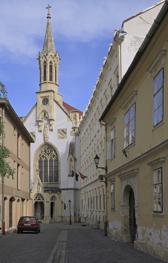 Kościół Niepokalany w Sopron, Węgry fotografia royalty free
