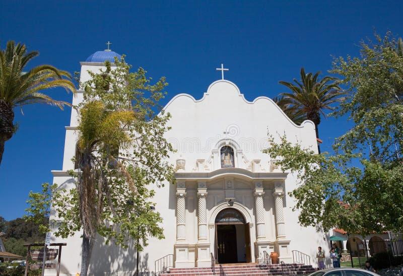 kościół nieskazitelny San Diego poczęcia zdjęcie royalty free