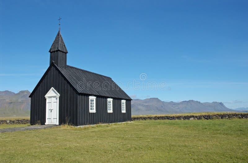 kościół odizolowane fotografia stock