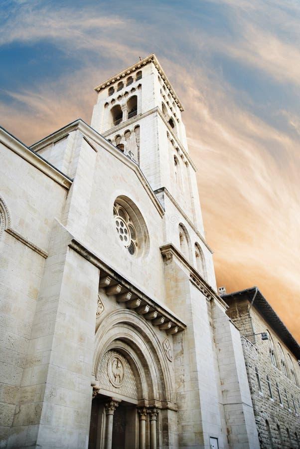 Kościół Odkupiciel w Jerozolima zdjęcie stock