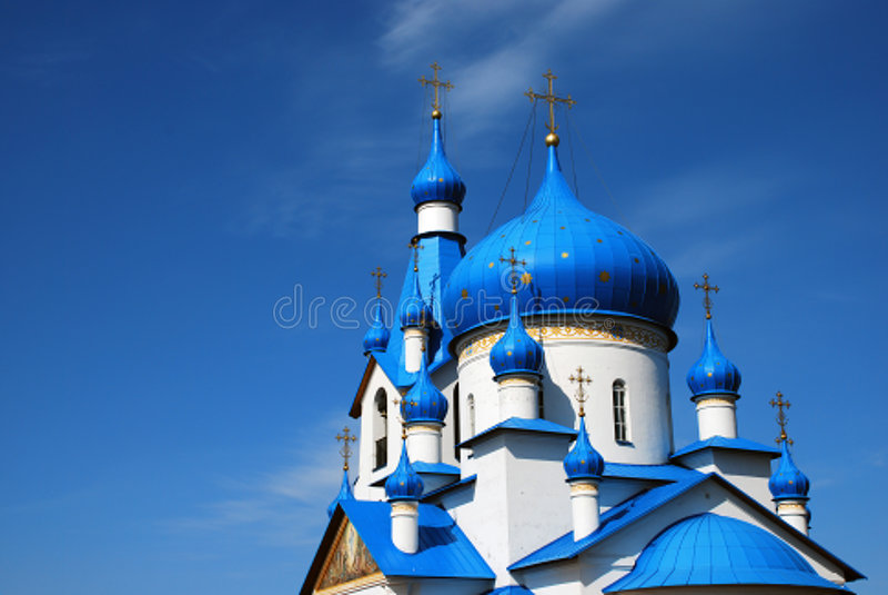 kościół ortodoksyjny zdjęcia royalty free