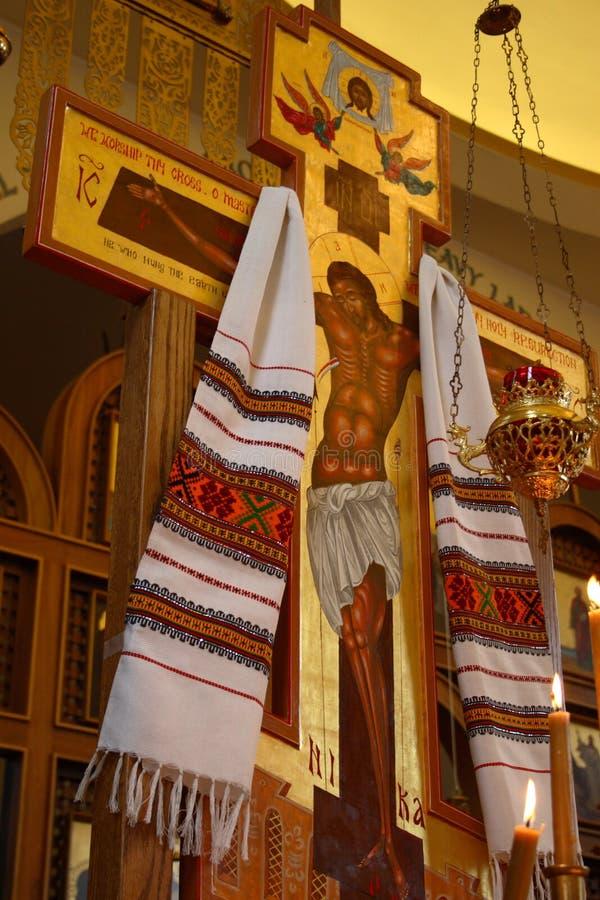 kościół po rosyjsku othordox Seattle, fotografia stock