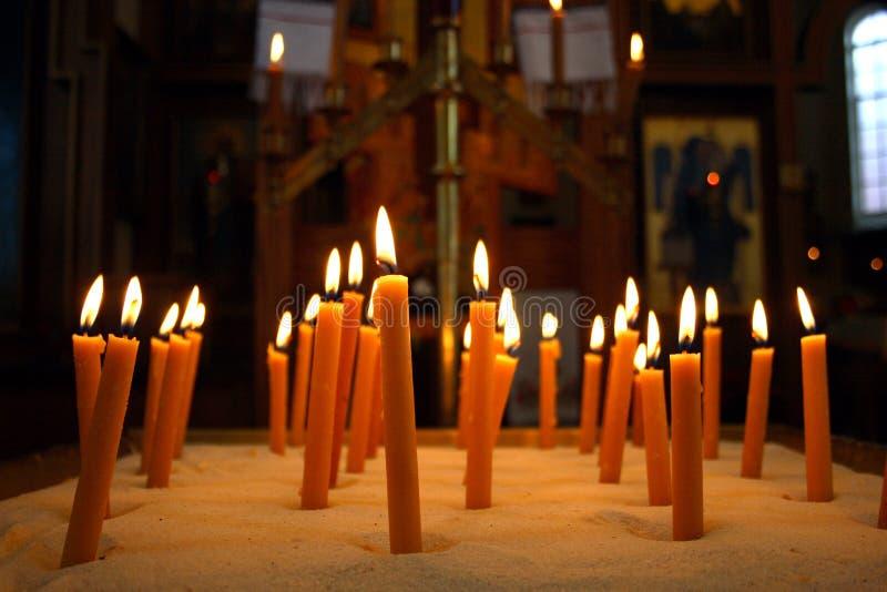 kościół po rosyjsku othordox Seattle, obraz royalty free