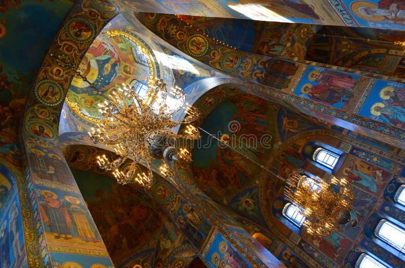 kościół prawosławny w rosji świętej petersburskiej, 22 sierpnia 2015 obrazy stock