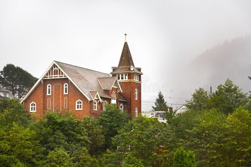 Kościół prezbiteriański Najpierw przy książe Rupert, kolumbiowie brytyjska zdjęcie royalty free