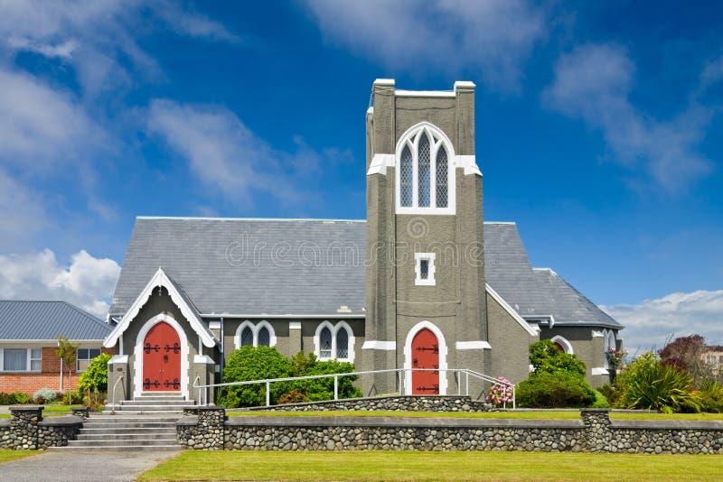 Kościół prezbiteriański w Nowa Zelandia obraz royalty free