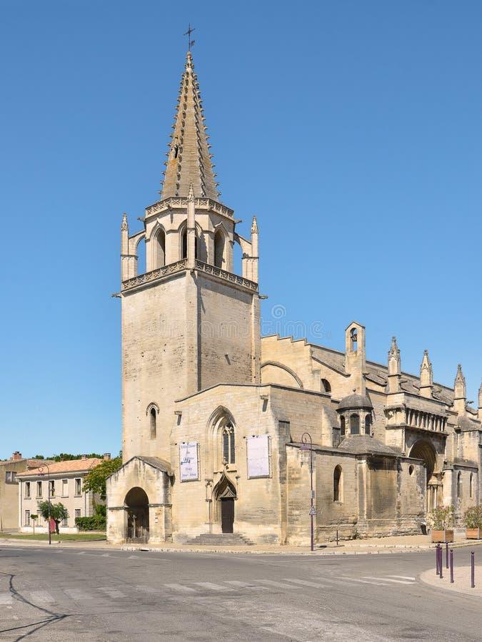 Kościół przy Tarascon w Francja zdjęcia royalty free