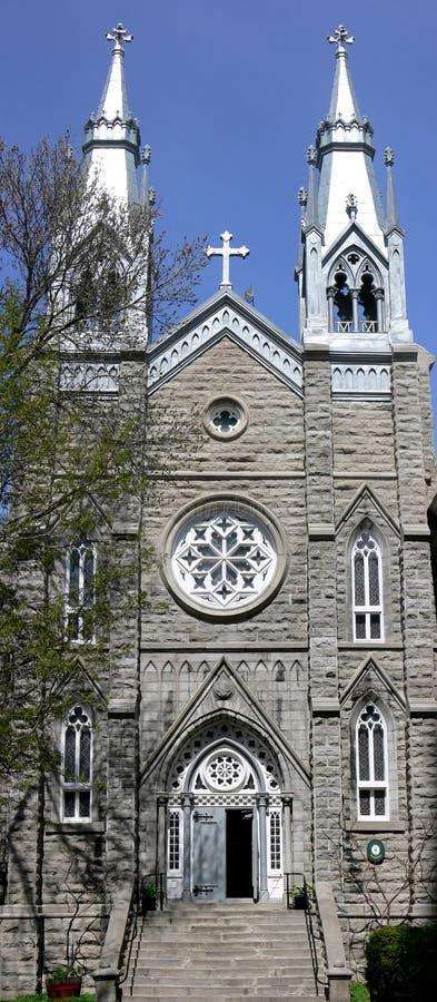 kościół Quebec zdjęcia royalty free