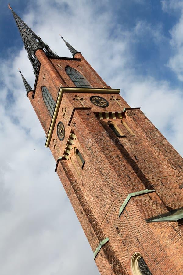 kościół riddarholmen zdjęcia stock
