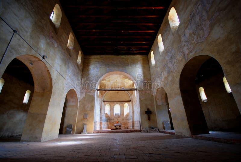 kościół romańszczyzna styl fotografia stock